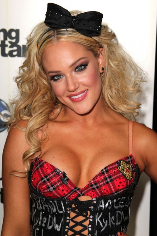 Lacey Schwimmer of Dancing with the Stars