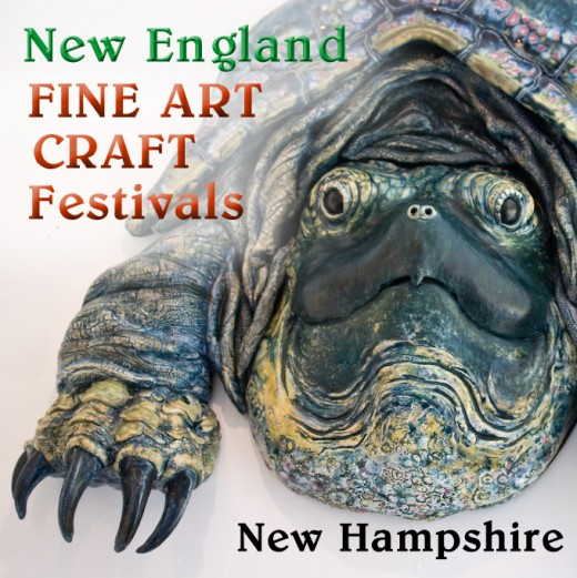 Fantastic lifelike ceramic turtle sculpture  by New Hampshire artist Glen MacInnis, photographed by Roger Goun