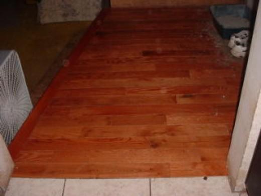 Installed Floor