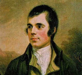 Robert Burns, a widely well-known Scottish Poet and Lyricist. (1759-1796)