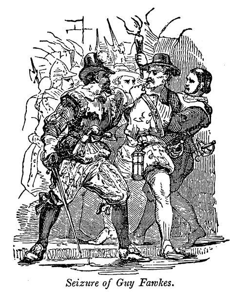 Seizure of Guy Fawkes by Samuel G. Goodrich,