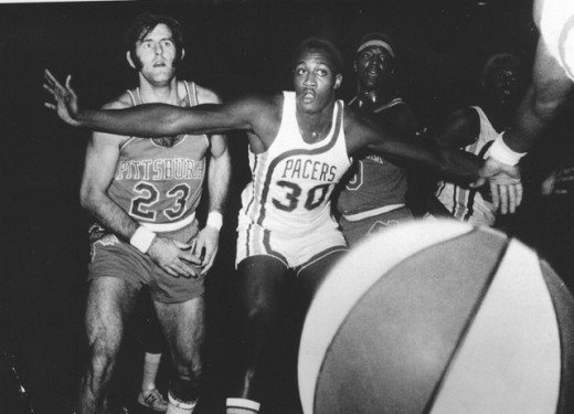 George McGinnins led the Indiana Pacers to two ABA championships