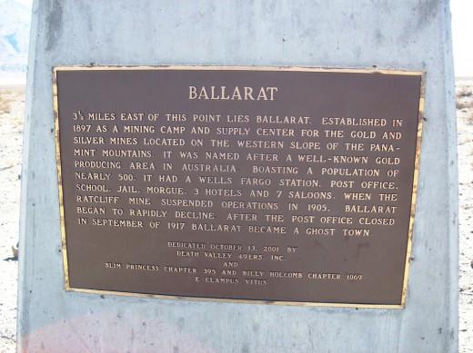 Ballarat California