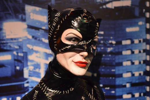 Michelle Pfeiffer Catwoman Wax Model