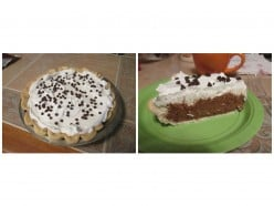 Heavenly Chocolate Cream Pie