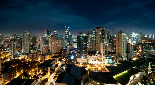 Philippines City Lights