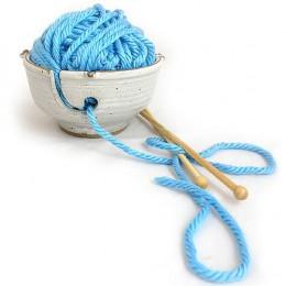 Anthony stoneware handmade yarn bowl