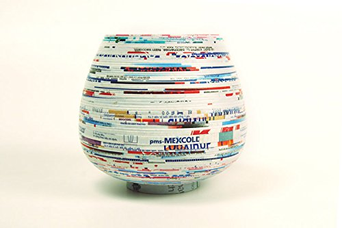 Lantern Moon recycled paper yarn bowl