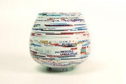 Lantern Moon recycled paper yarn bowl