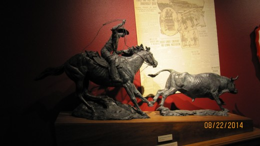 Statue of Roping