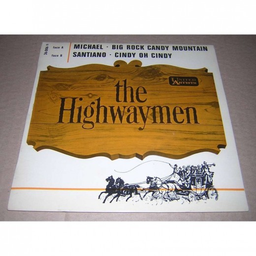 Logo of The Highwaymen from an album cover