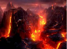 Most people would rather go to Heaven than to go to the alternative place-HELL. Hell fills many people with fear, even intense trepidation. Hell is viewed by many to be quite a FRIGTENING, even TERRIFYING place.