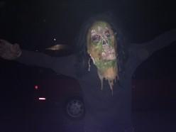 My Son's Halloween Acting Debut In A Halloween Haunted Cornfield