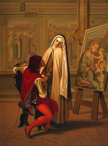 """Love or Duty"" Castagnola, Gabrielé, 1828-1883, artist."