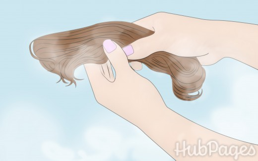 Wash your hairpiece in a bowl of water with synthetic-safe shampoo.