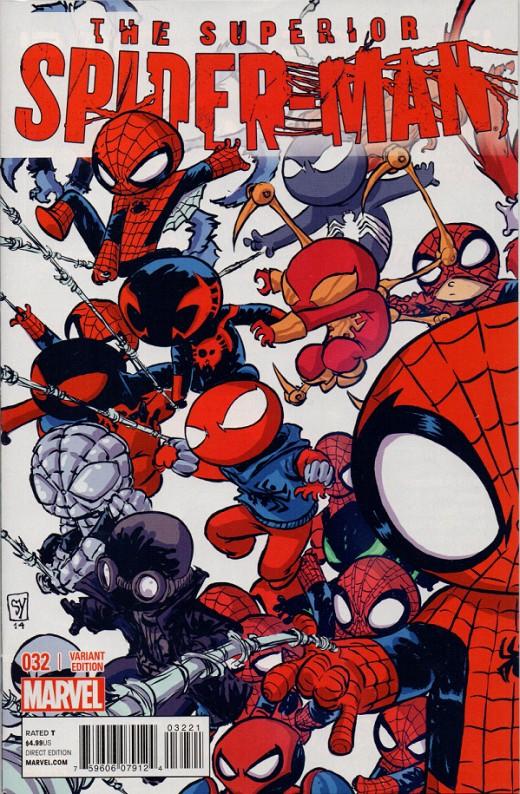 My Superior Spider-man #32 Skottie Young variant