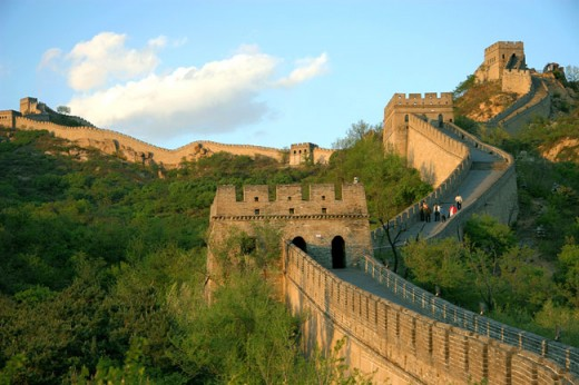 great wall of China,the miracle wall