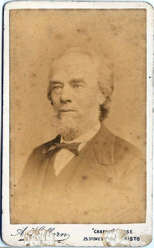George Burgess, aged 60 (1889)