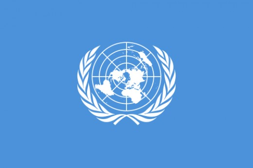 The flag of the United Nations, the poster child of all things i18n.