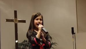 Children can sing at the all- day singings