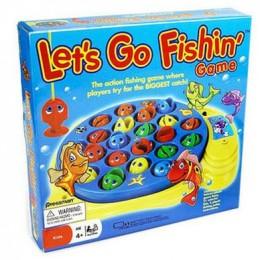 Pressman let 39 s go fishin 39 review classic kids toys for Walmart kids fishing poles