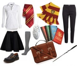 "How To Create A ""Hogwarts Student Uniform"" Costume For Halloween!"