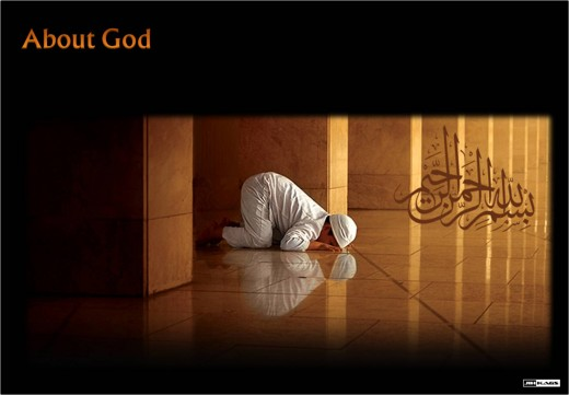 the head bows down voluntarily before the One Who is our true Creator