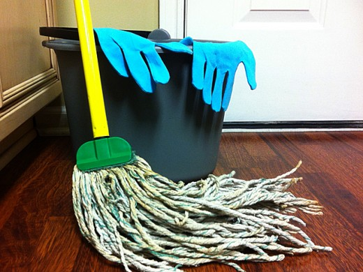 No more bulky buckets, dirty, stinky mops or uncomfortable latex gloves when you ditch your regular mop for a Shark Steam Mop.