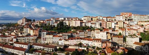 The city of Coimbra, Portugal