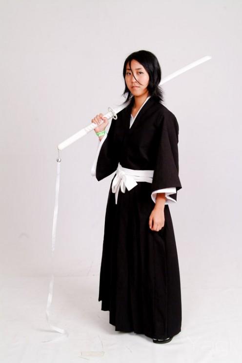 Rukia in black kimono