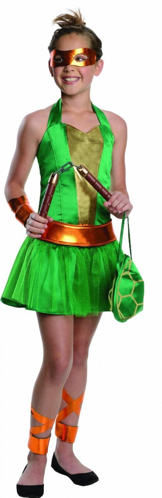 Teenage mutant ninja turtles costume for teen girls - photo#3
