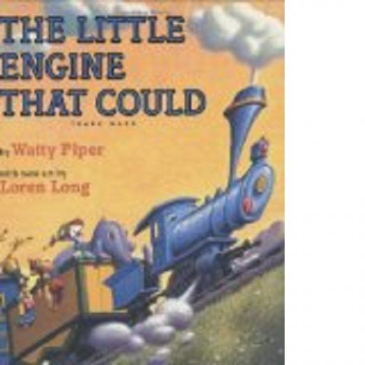 This is a classic story book illustrated with pictures that gives a positive message to small children.