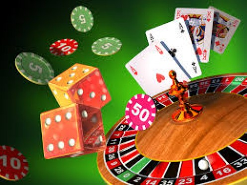 Gambling games can be addictive.