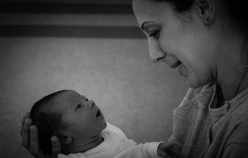 Having a baby is the greatest gift!  But for some women, the experience may initially feel like a difficult thing to go through.