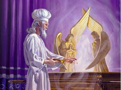 """""""Then Moses brought Aaron and his sons forward and washed them with water."""""""