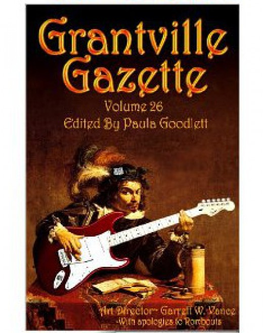 Grantville Gazette Volume 26. Part of the 1632 Universe by Eric Flint et al. The cover emphasizes the cultural clash created by the Ring of Fire