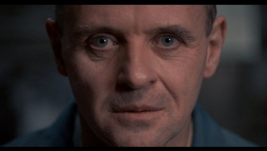 There's the Kubrick stare, and there's the Lecter stare.