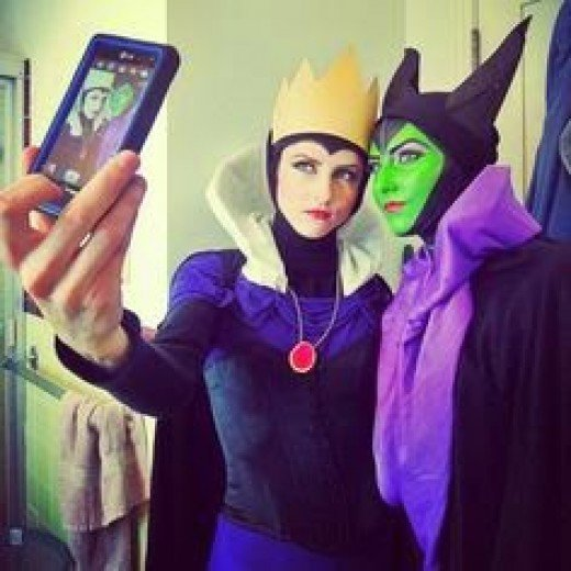 Goes well as a Halloween costume with Maleficent