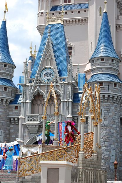 Cinderella's Castle is just one of the many creations that came out of Walt Disney's fertile mind.