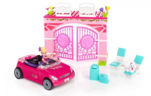 Mega Bloks Barbie Convertible