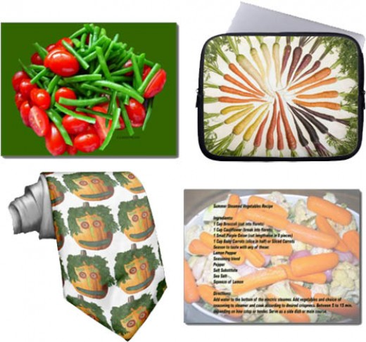 Vegetables of green and more colors for a healthy you