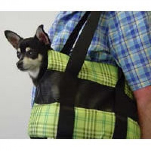 Zoe in the Padded Shoulder Carrier