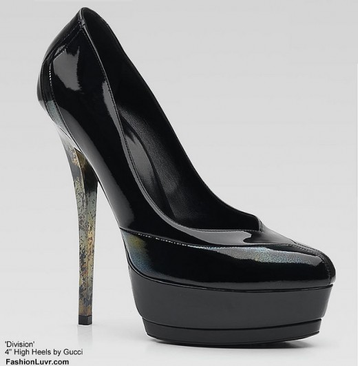 The moment was short lived. She heard the click-clack of stiletto heels stop near the room's entrance.