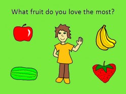 English Lesson: What's your favorite fruit?
