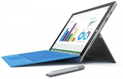 Microsoft's latest hybrid tablet.
