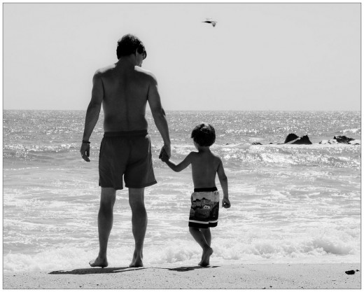 Is there anything more beautiful than a father's love for his son?
