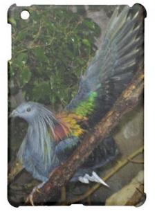 Nicobar Pigeon iPad Case