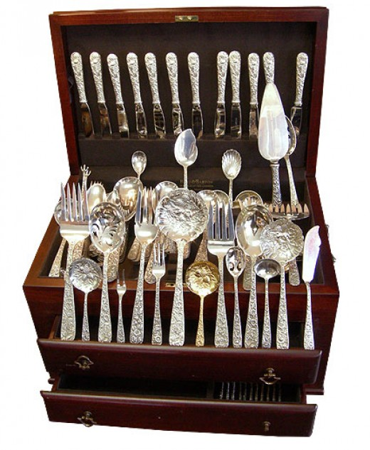 Sterling Silver Flatware Used | Fashion Home Decoration