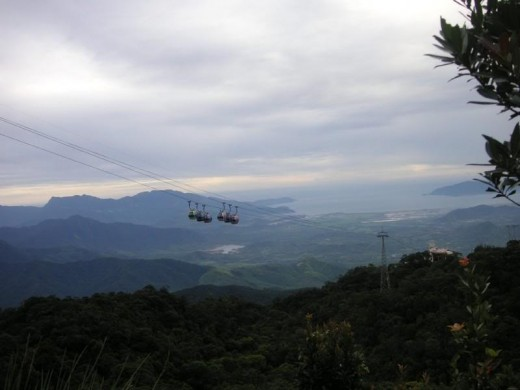 View from Ba Na
