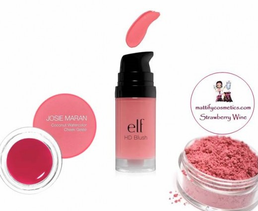 Berry Pink Blush for a Glowing Winter Complexion